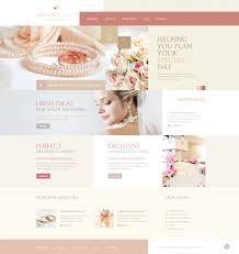 wedding planning websites wedding guide joomla template 44309