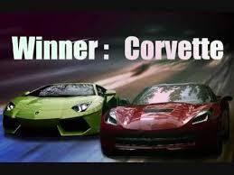 corvette vs lamborghini c7 corvette stingray destroys lamborghini aventador 1 4 mile top