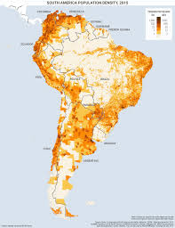 United States Population Distribution Map by South America U0027s Population Clinging To The Coasts Geopolitical