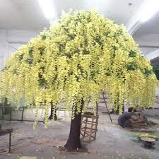 wishing tree high quantity customized yellow wedding wishing tree for
