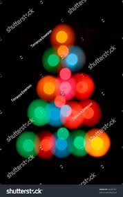 abstract out focus lights shaped stock photo 16625791