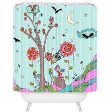 Bright Shower Curtain Unique Tree Shower Curtains