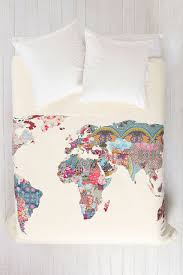 Armstrong Map Bianca Green For Deny Louis Armstrong Told Us So Duvet Cover World