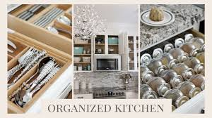 organized kitchen tour organize your kitchen youtube