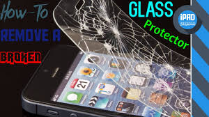 how to remove glass protector easily from any iphone ipad or ipod