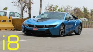 bmw supercar blue protonic blue bmw i8 in mumbai india youtube
