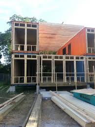 front before facade i built a shipping container home tiny
