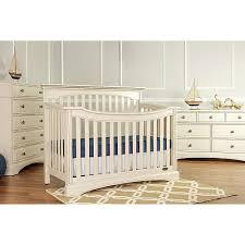 Antique White Convertible Crib Evolur Flat Top Collection Convertible Crib Antique