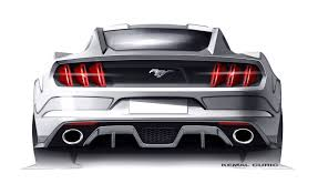 mustang design ford mustang design sketch by kemal curic car design