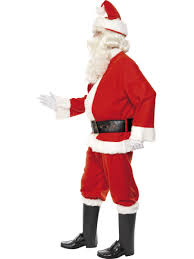 deluxe santa costume fancy dress and party
