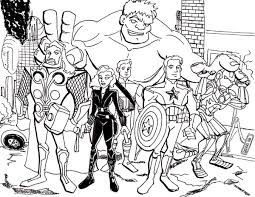 the avengers assemble coloring page the avengers assemble