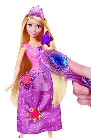 amazon disney princess tangled gem hair styler rapunzel doll