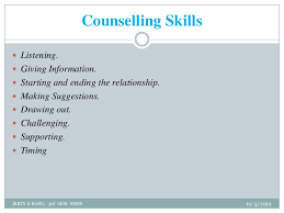 Counselling Skills For Managers Ma Employee Counselling
