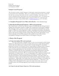 grant proposal cover letter letter of support for grant proposal