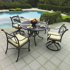 Aluminum Patio Chairs by Cast Aluminum Patio Furniture Family Leisure