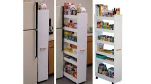 Kitchen Cabinet Spice Rack Slide by Kitchen Storage Ideas That Will Enhance Your Space Pull Out Pantry