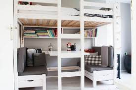 bunk beds u0026 loft with desks wayfair intended for elegant home