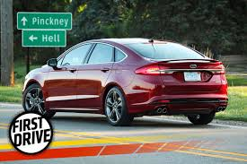 2012 ford fusion review car and driver the 325 horsepower 2017 ford fusion sport is not the audi slayer