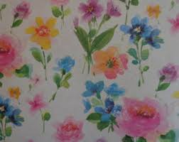 floral gift wrapping paper floral gift wrap etsy
