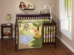 baby nursery heavenly baby room decoration with dark brown wood