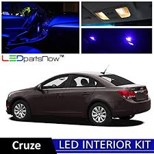 chevy cruze warning lights amazon com ledpartsnow 2011 2014 chevy cruze led interior lights