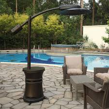italia cantilever commercial dome style patio heater