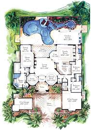 florida luxury home plans with lanai and pool trend home design