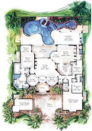 57 home plan lanai florida luxury home plans with lanai and pool