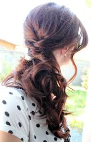 hairstyles i can do myself best 25 side ponytail wedding ideas on pinterest bridesmaid