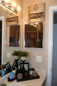 Pink Cheetah Print Bathroom Set by Decorating With One Pink Chic Wild Side Bathroom Update