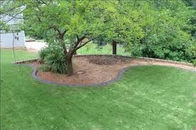 concrete landscape curbing we installed duluth and suwanee georgia
