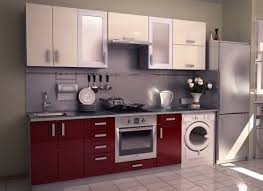 kitchen furniture kitchen modular kitchen cabients with glossy color with white