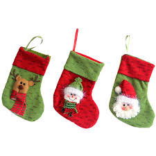 Christmas Stocking Tree Decoration Small Christmas Tree Storage Bag Rainforest Islands Ferry