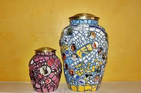 personalized urns pique assiette mosaic vases frames plates and more
