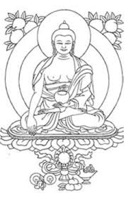 Buddha Drawings Free Symbols For Buddhism Free And Printable Buddhist Coloring Pages