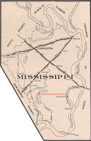 County Map Of Mississippi Mississippi County Missouri 1904 Map