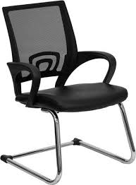 Black Leather Office Chairs Office Chairs Barcelona Designs