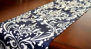 Plastic Table Runners Table Diy Trio Of No Sew Table Runners Awesome Navy Blue Table