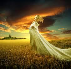 demeter ceres greek goddess of harvest fertility and