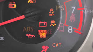 service engine light on nissan 2013 nissan juke warning and indicator lights youtube