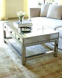 Mirrored Top Coffee Table Mirrored Top Coffee Table Contemporary Mirror Design Hi Res