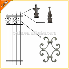 ornamental fence parts and aluminium tubular fencing view