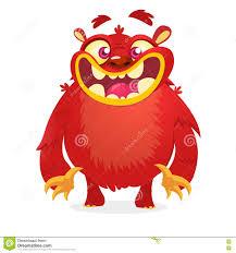 Cute Halloween Monster by Cute Red Monster Vector Cartoon Halloween Character Stock Vector
