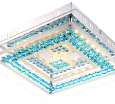 Schlafzimmer Decken Lampen 15 Watt Led Decken Lampe Schlafzimmer Bad Leuchte Chrom Glas