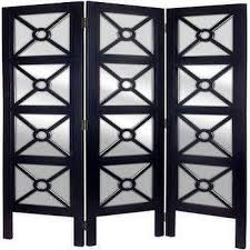 Mirror Room Divider Charleston 3 Panel Room Divider Room Dividers Home Accents
