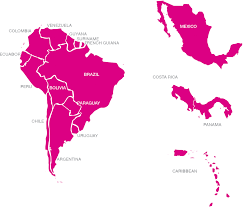 Blank Map Latin America by Usa And Mexico Map Outline Us And Mexico Map Outline Mapofusa