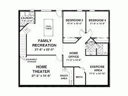 1500 Sq Ft Ranch House Plans Floor Plans For 1500 Sq Ft Homes Exquisite 8 Eplans Craftsman