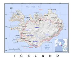Iceland World Map Maps Of Iceland Detailed Map Of Iceland In English Tourist Map