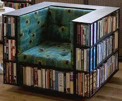 Bookshelf Seat Chair