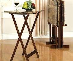 target tv snack tables folding tv tray table anthem with stand tables target bomer